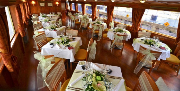 Sweet Prague - Luxury cruise with a Á la carte menu