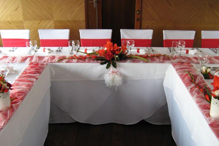 Svatební stolová úprava