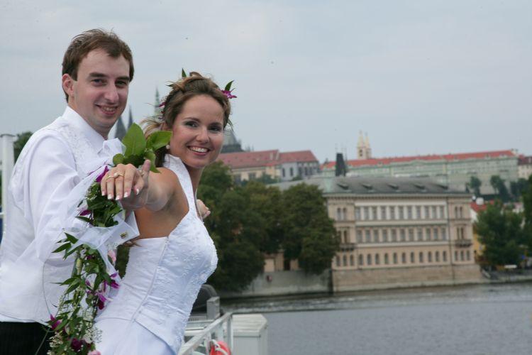 Hamburg - Svatba na lodi