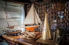 Interiér lodi Gladius