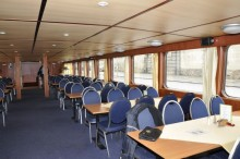 Conference on boat