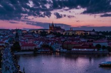 The atmosphere of evening Prague will get you