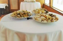 Svatba na lodi - koláčky