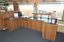 buffet meal section