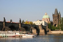 Czechie - Charles bridge