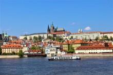 Plavba centrem Prahy