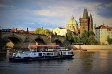 Vltava river is calling you