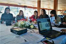 Seminar on boat