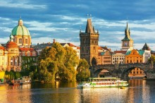 Plavba v Praze